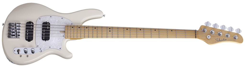 Schecter CV-5 BASS Ivory