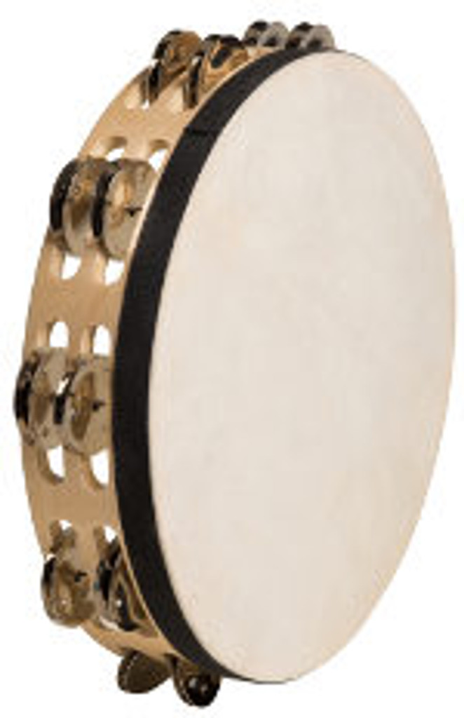 """10"""" Double Tambourine With Head (BLOWOUT)"""
