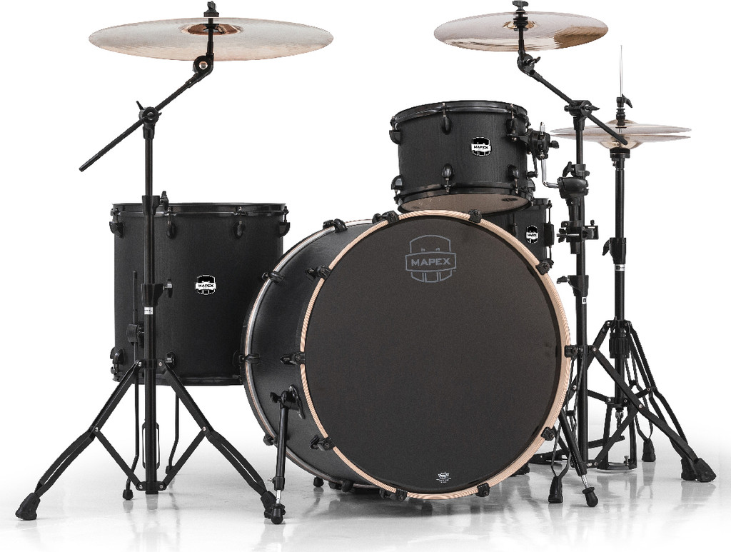 Mapex Mars 4-Piece Rock 24 Shell Pack Night Wood