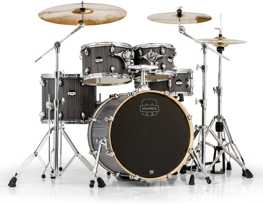 Mapex Mars 5-Piece Fusion Shell Pack Graywood