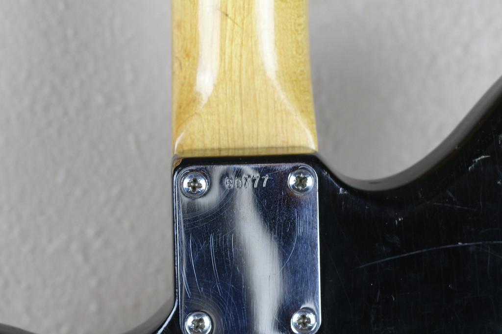 Fender Jazzmaster Original 1962 Black w/Original Hardshell Case