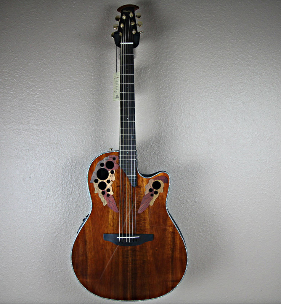 Ovation Celecrity CE44FP-KOA Acoustic Electric Guitar