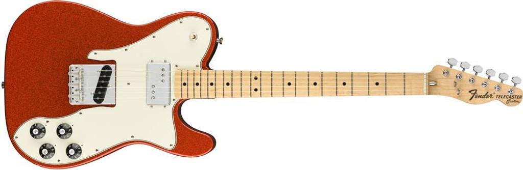 Fender Limited Edition '72 Tele Custom, Maple fingerboard, Orange  Sparkle