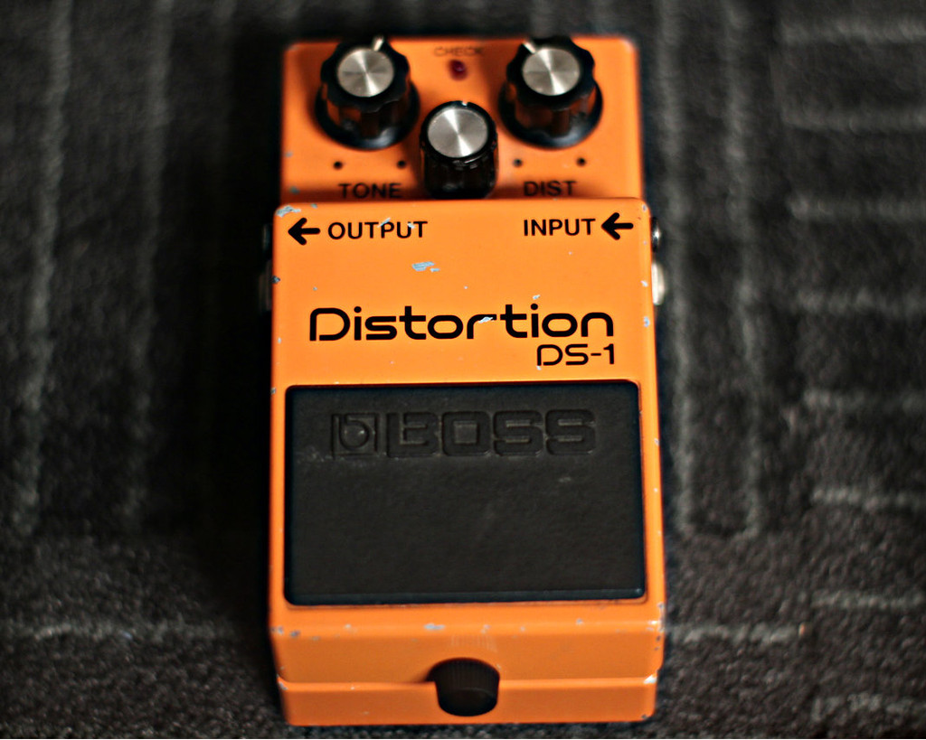 Boss DS-1 Distortion Pedal MIJ (Used)