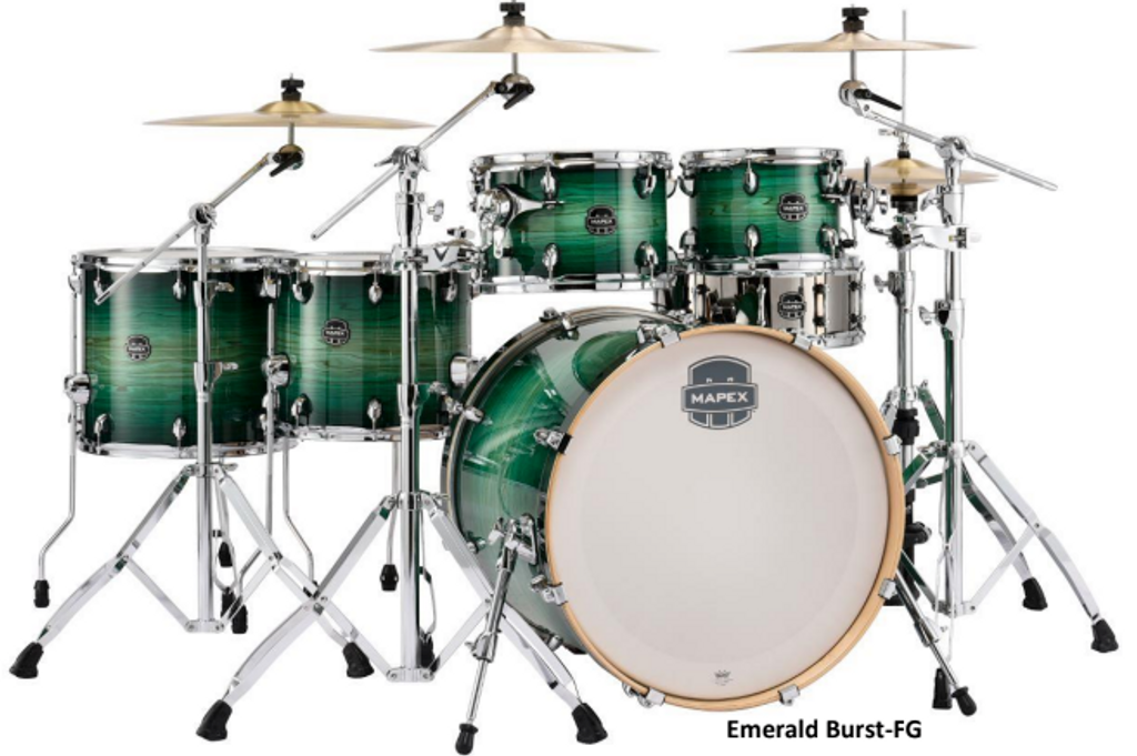 Mapex Armory 6 Piece Fast Shell Pack Emerald Burst