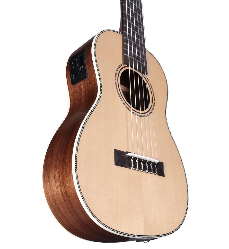 Alvarez Artist 6-String AU70WBE/6 Bari Uke Size Travel Guitar