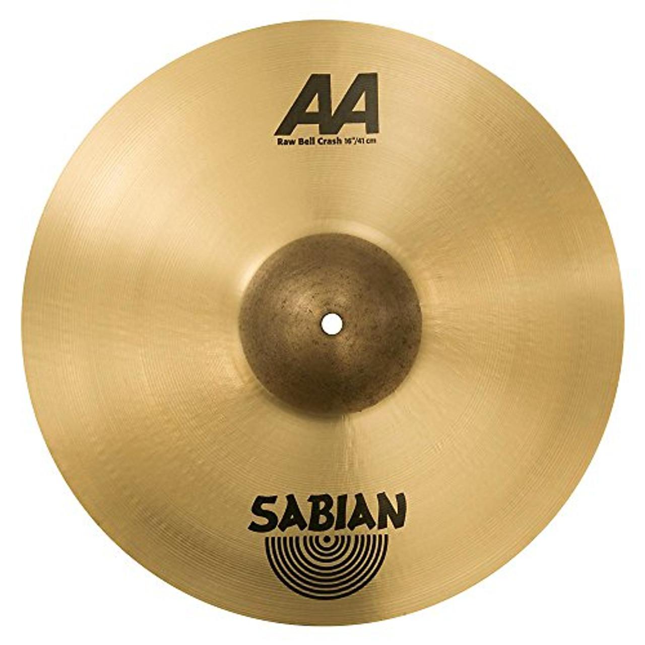 """Sabian 16"""" RAW BELL CRASH AA"""