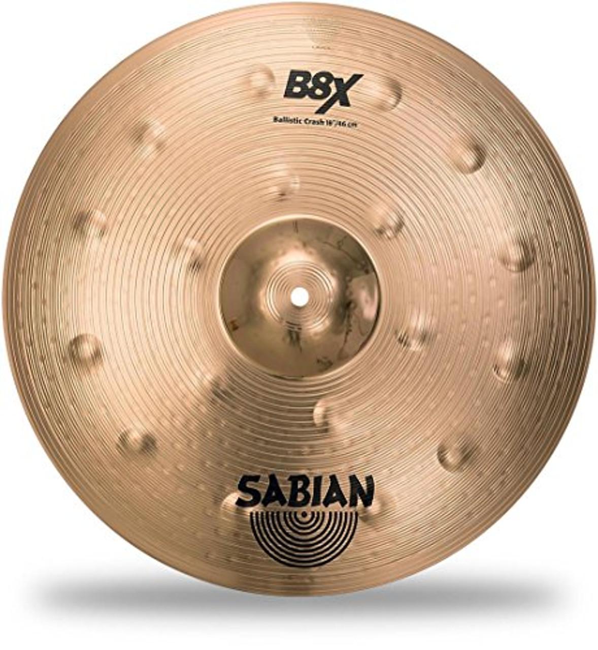 "Sabian 18"" BALLISTIC CRASH B8X"