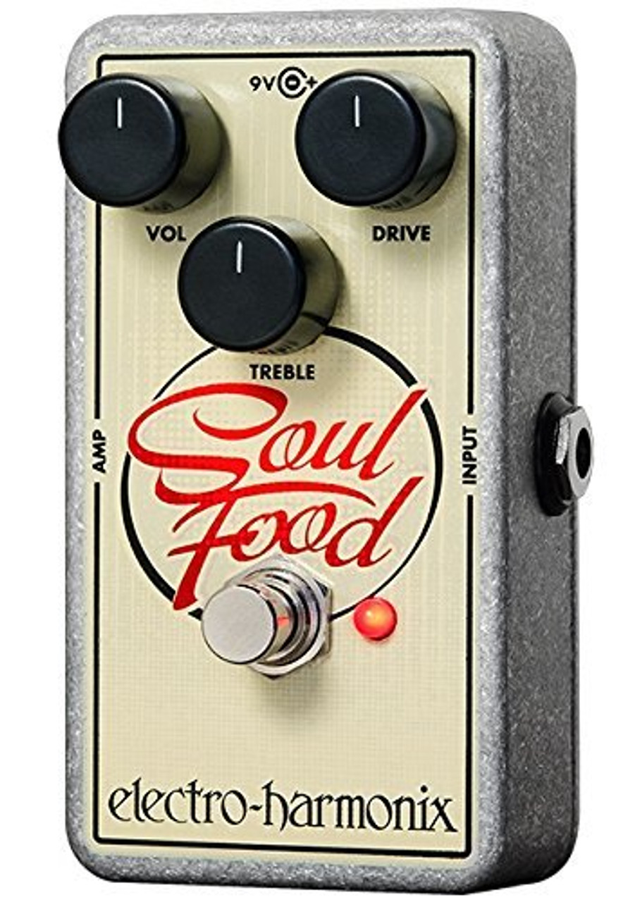 Electro Harmonix SOUL FOOD Transparent overdrive, 9.6DC-200 PSU included