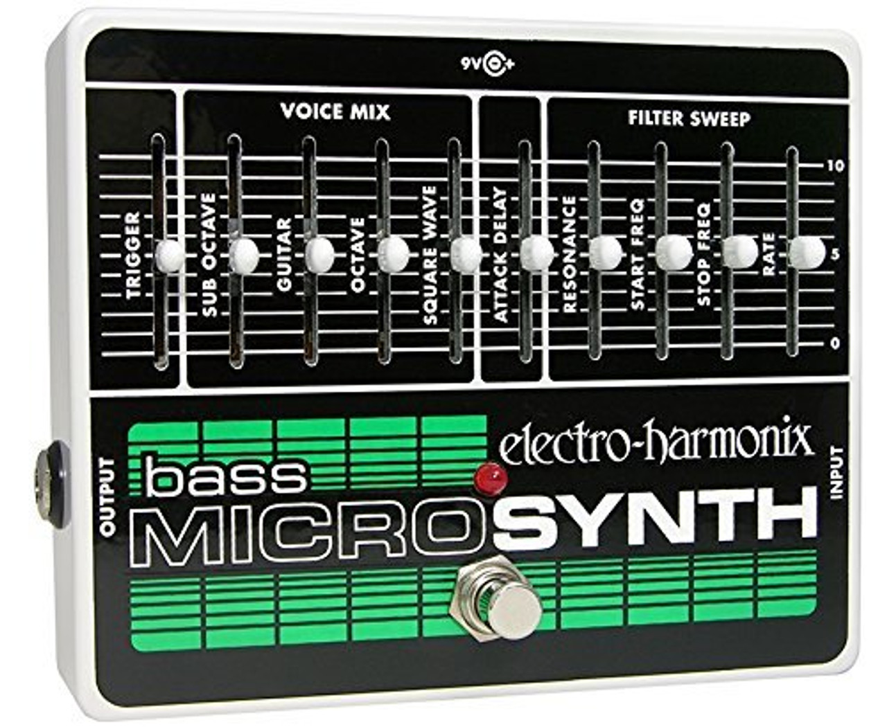 Electro Harmonix BASS MICROSYNTH Analog/Synthesizer, 9.6DC-200 PSU included