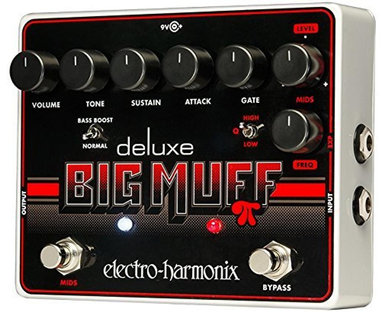 Electro Harmonix DELUXE BIG MUFF Deluxe Distortion/Sustainer, 9.6DC-200 PSU optional