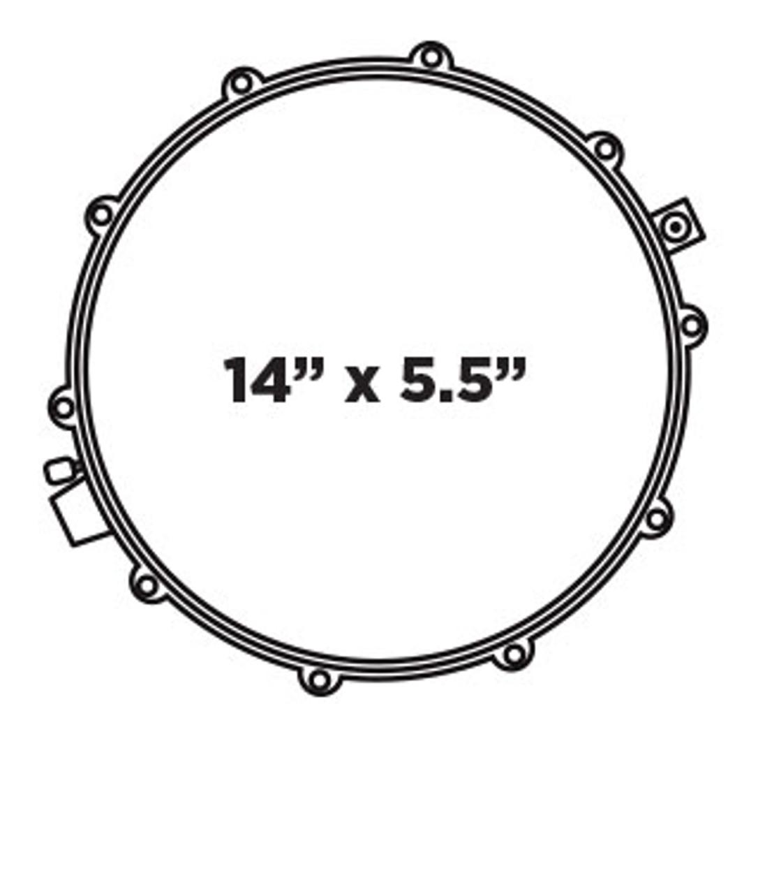 Mapex Black Panther Velvetone Snare Drum 14 x 5.5