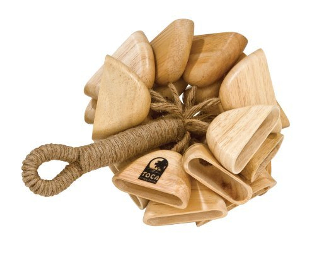 Toca a T-WRH Wooden Rattle with Handle
