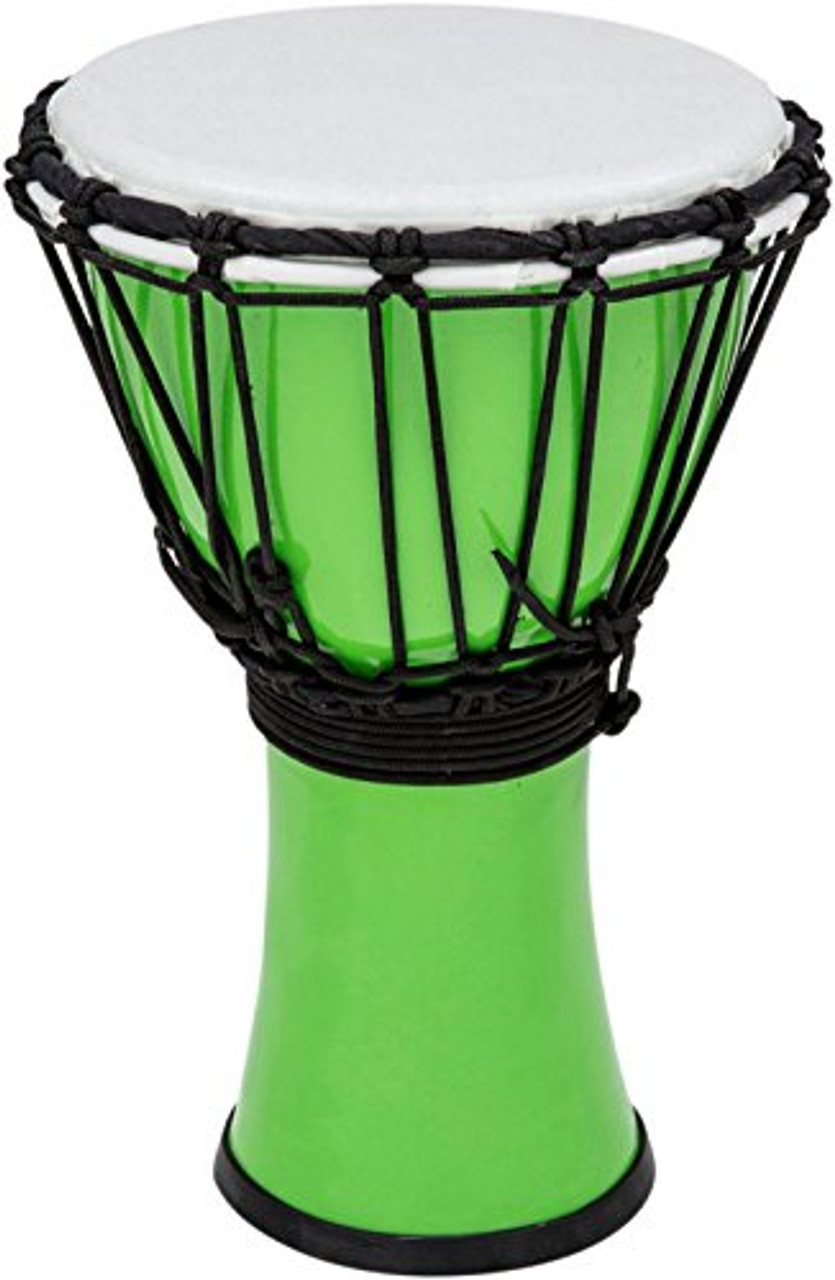 Toca a TFCDJ-7PG Colorsound 7-Inch Djembe, Pastel Green