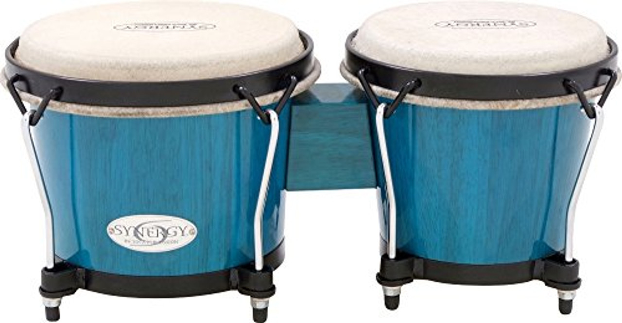 Toca a Synergy Series Bongo Set Blue (Blue)