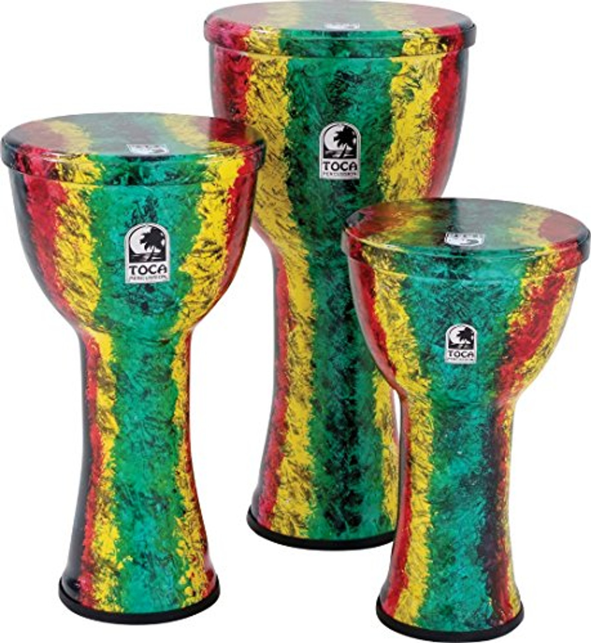 Toca a Freestyle Lightweight Djembe Drum 12 inch Earth Tone (12 inch Earth Tone)