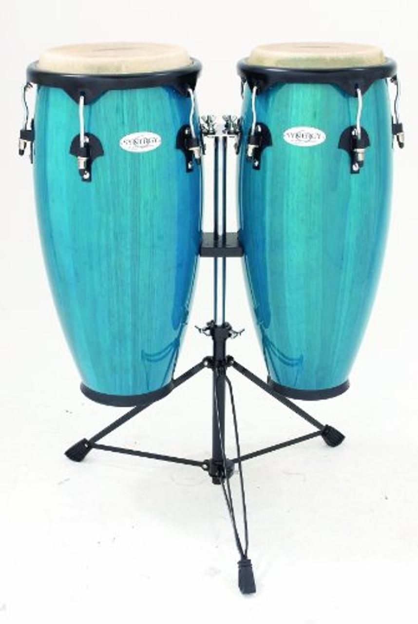 Toca a 2300BB Conga Drum, Bahama blue