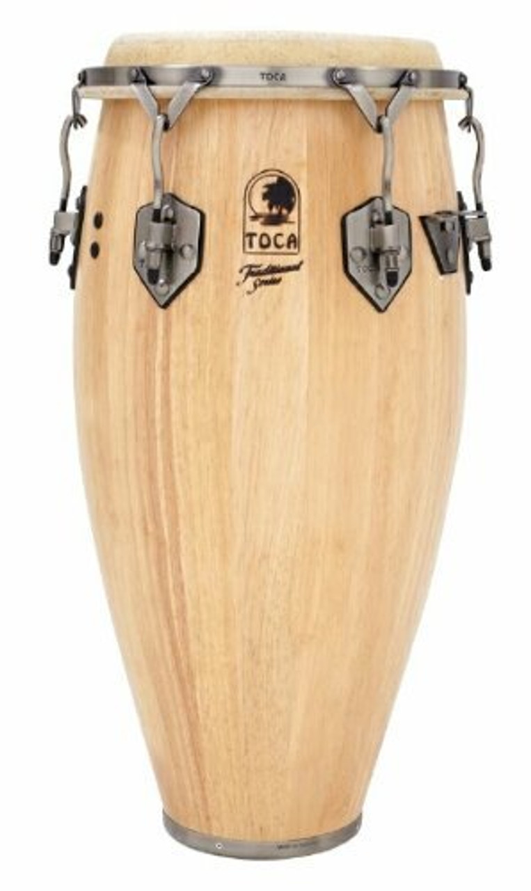 Toca a 3912-1/2T Traditional Series Tumba - Natural Wood Finish