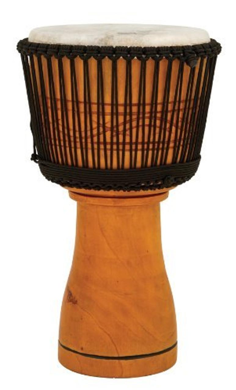 Toca a TMDJ-13NB Master Series Wood Rope Tuned 13-Inch Djembe