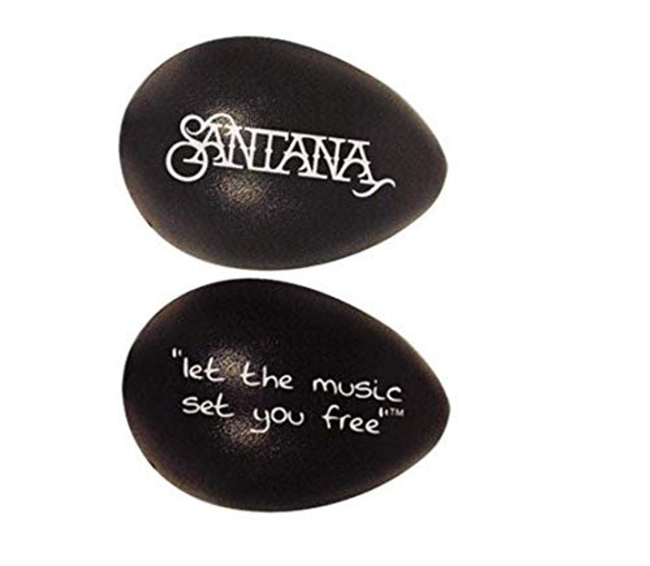 Drum Workshop Rhythmix Eggs - 1 Pair Santana Blk Licor