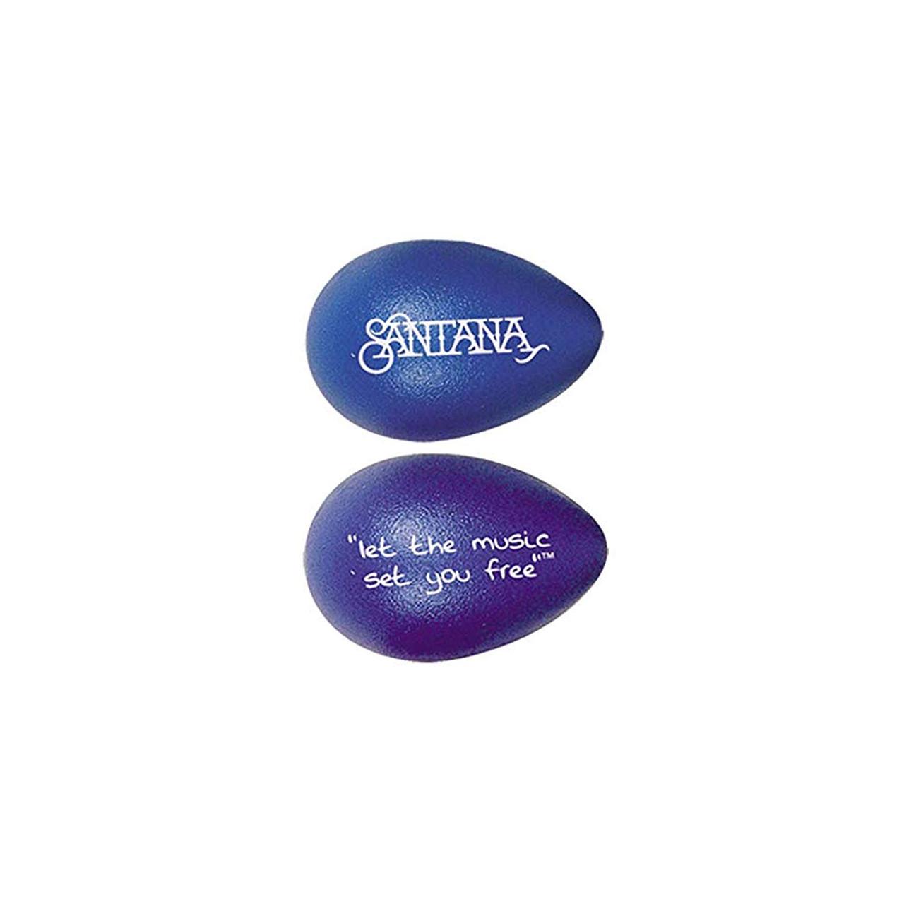 Drum Workshop Rhythmix Eggs - 1 Pair Santana Blueberry