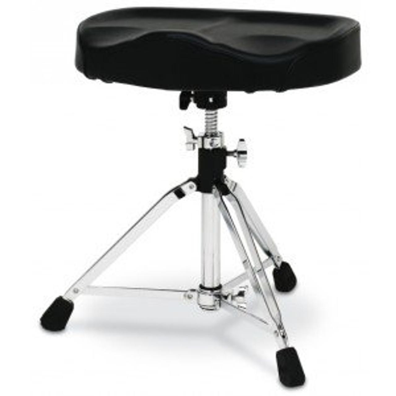 Drum Workshop Hvy Duty Dw Throne W/motorcycle Seat Top