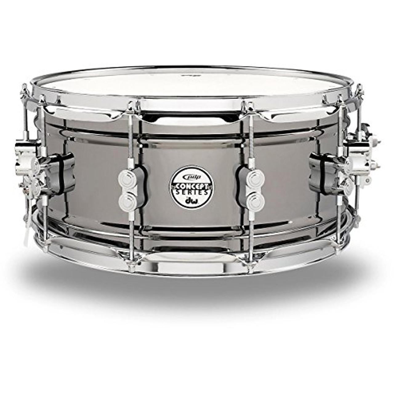 Drum Workshop Concept Snr 6.5x14, Bn Over Steel, Cr Hw