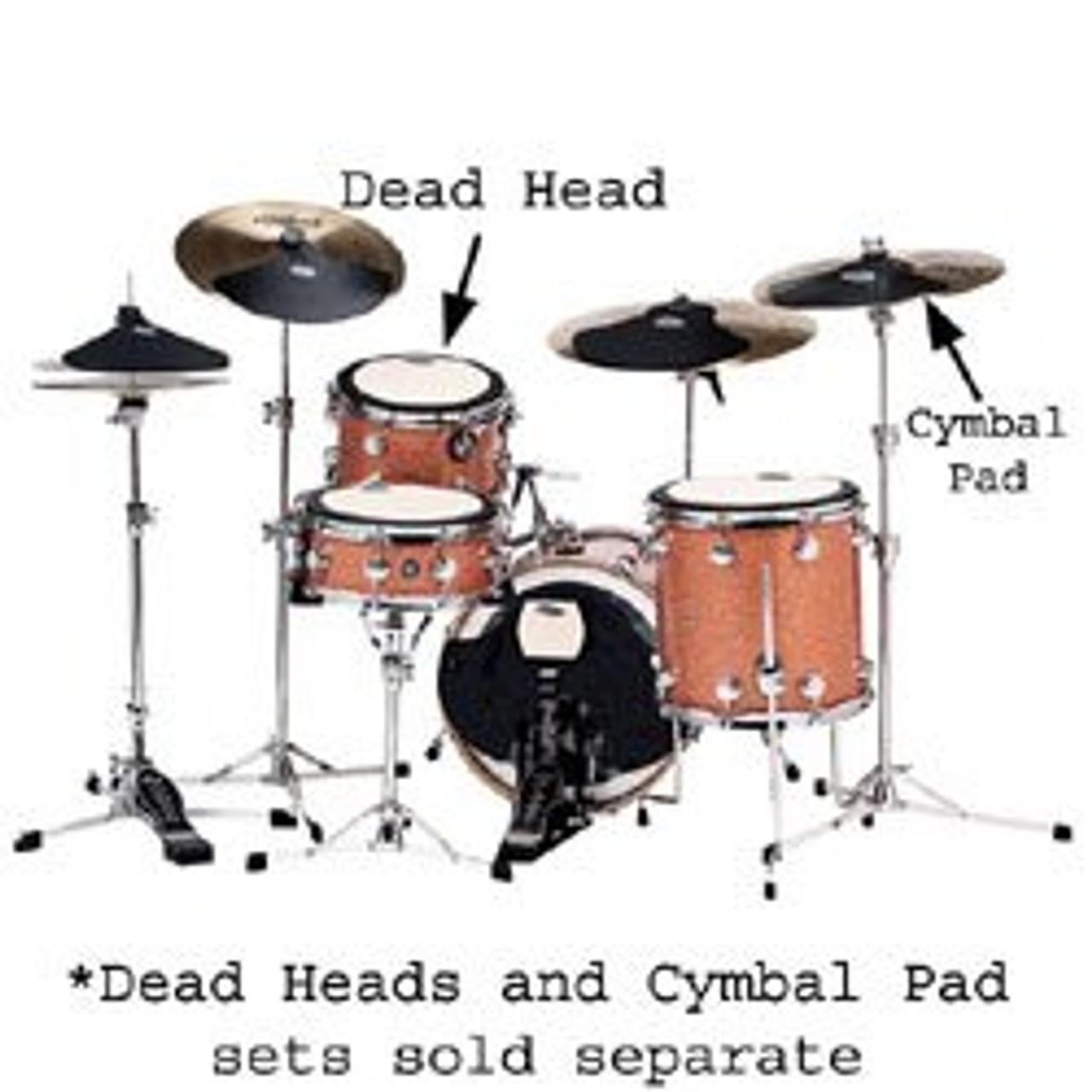 Drum Workshop Complete 5-Piece Cymbal Pad Set