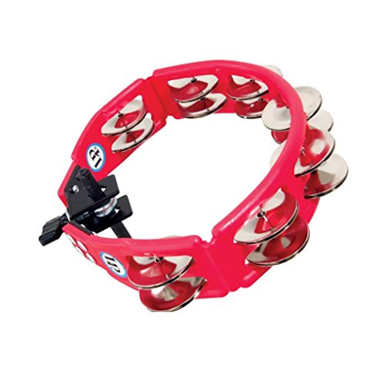 Drum Workshop Cyclops Mounted Tambourine Red Steel