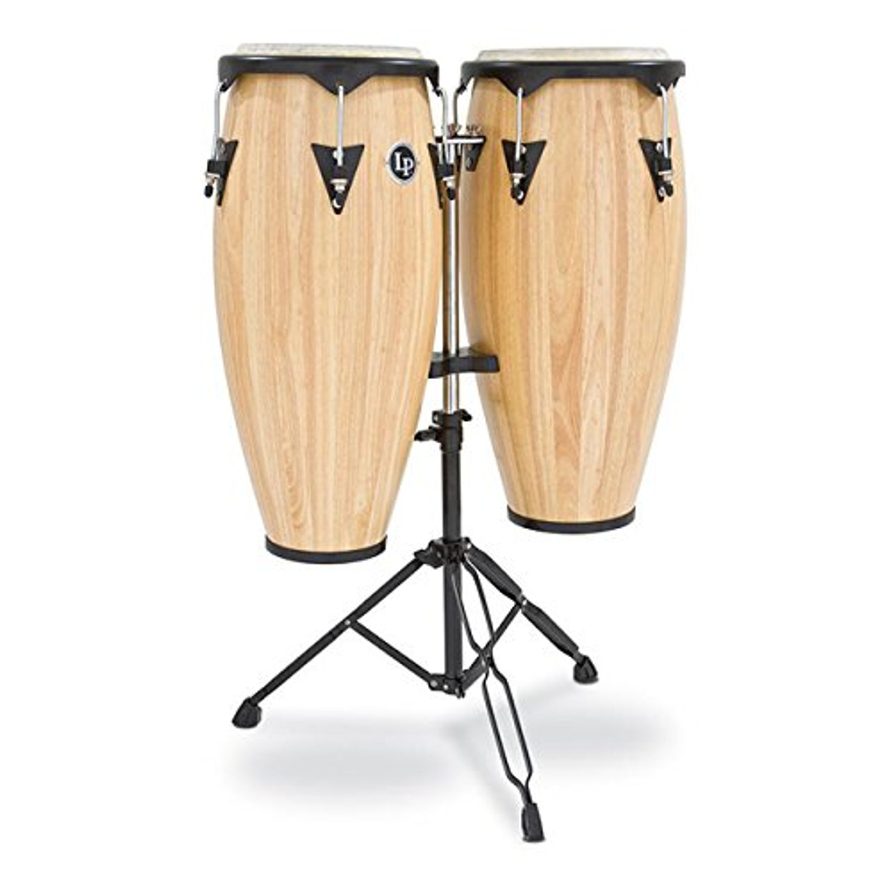 Drum Workshop City 10-11 Set Oak Nat Black W/dbl Std