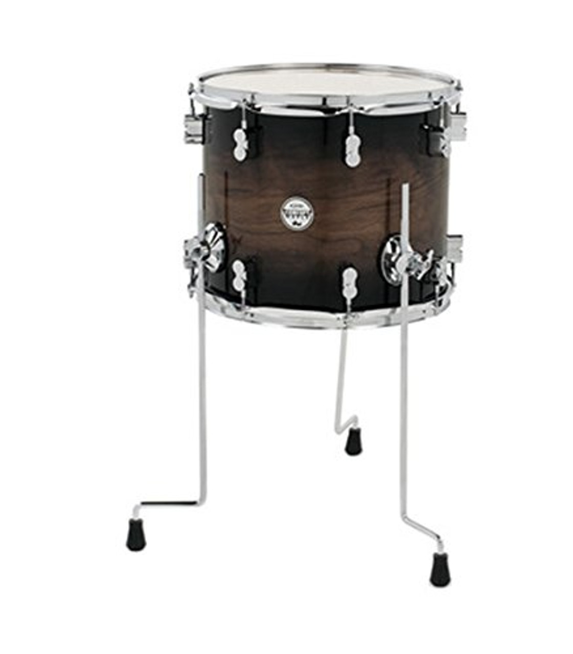 Drum Workshop Concept Exotic Wal-Char Bur, Cr Hw 12x14