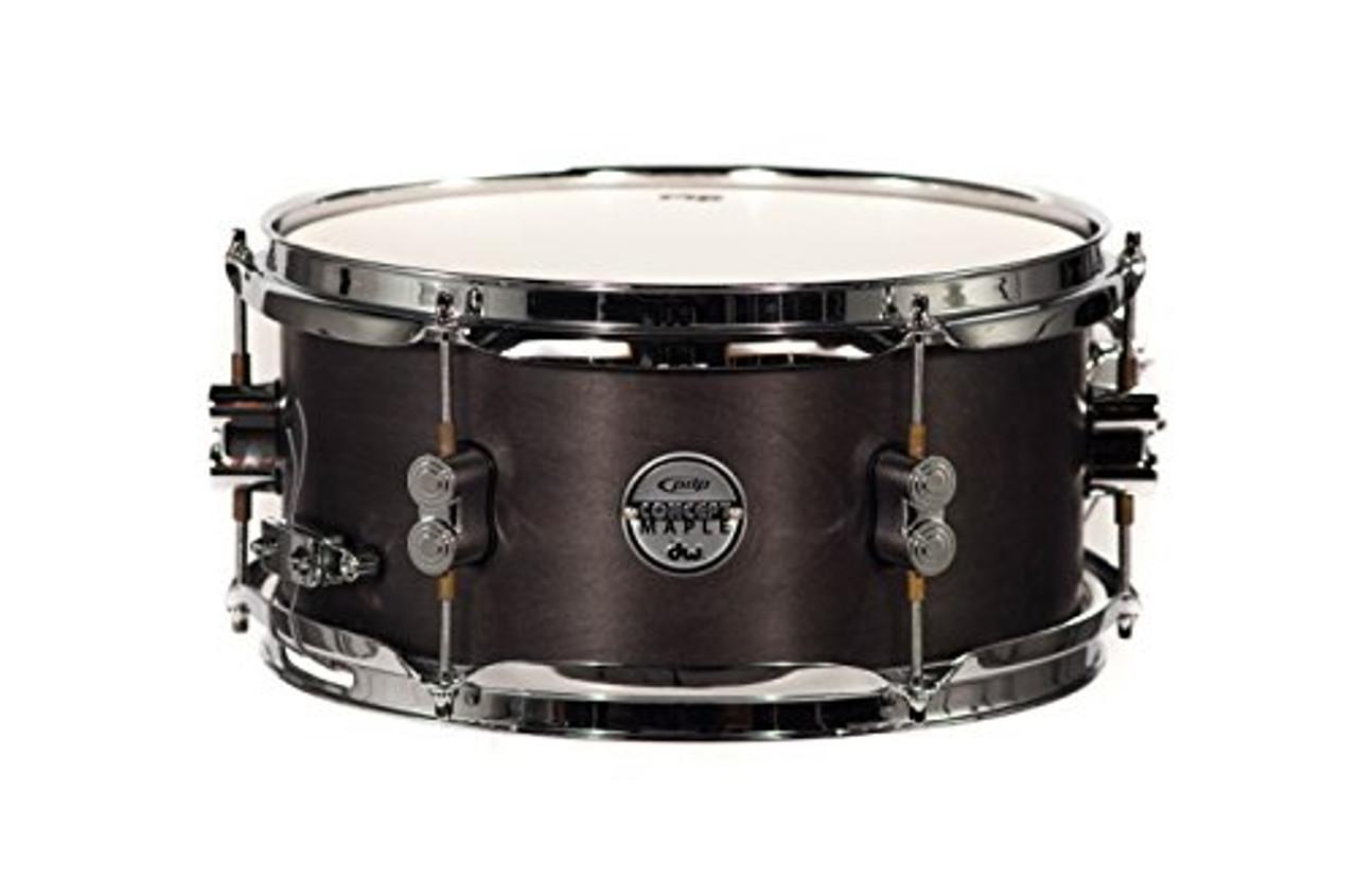 Drum Workshop Concept Snare 6x12, Black Wax, Cr Hw