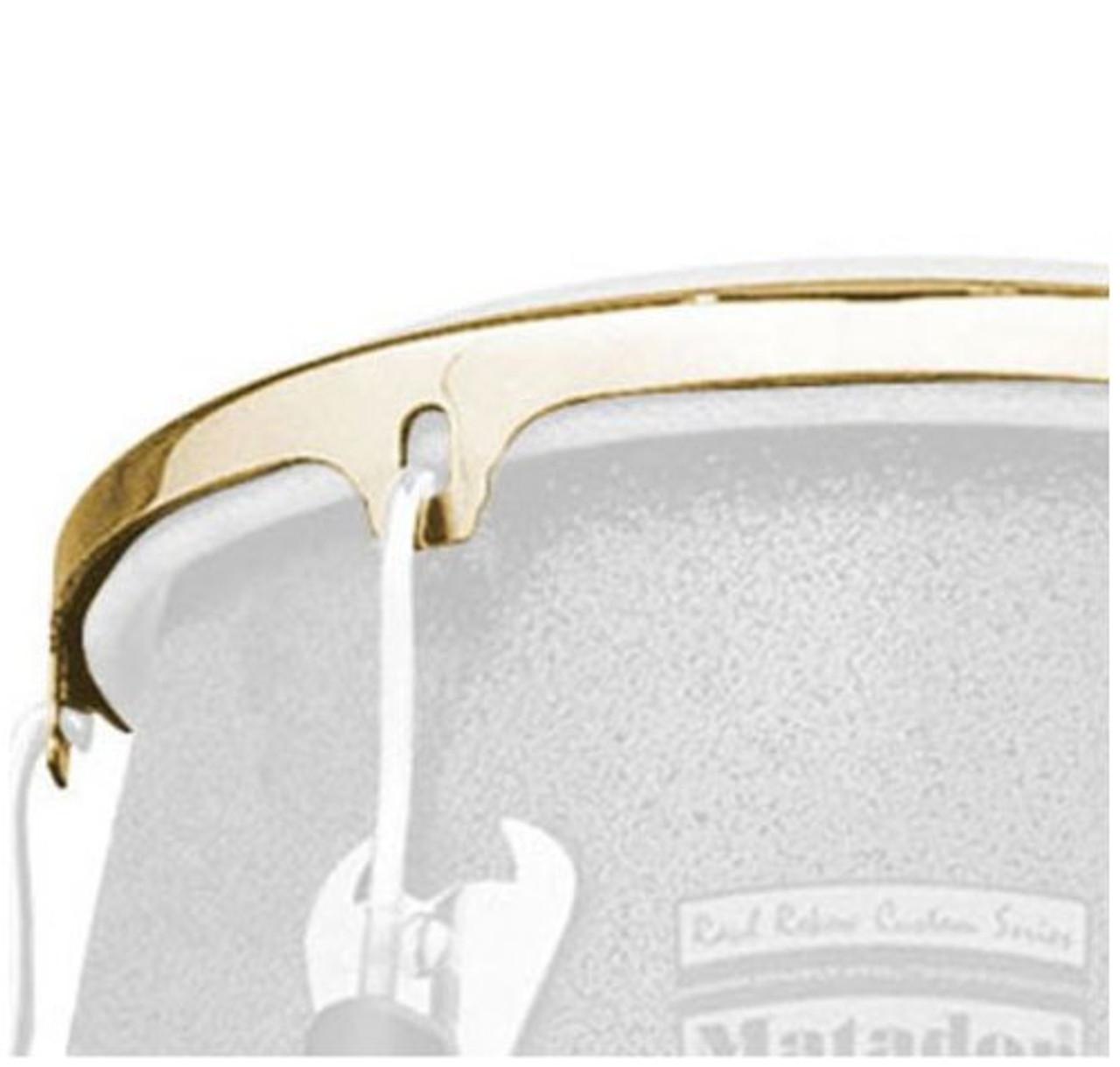 Drum Workshop Bongo Rim 8 Gold Tone