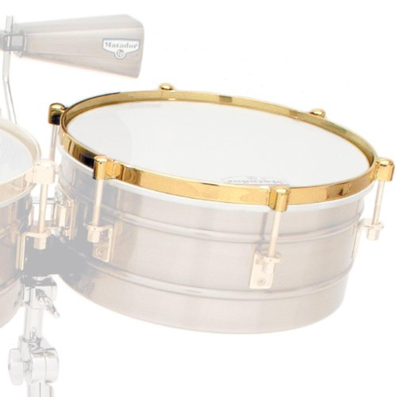 Drum Workshop 14 in Timbale Rm Gld Lp257-Kp