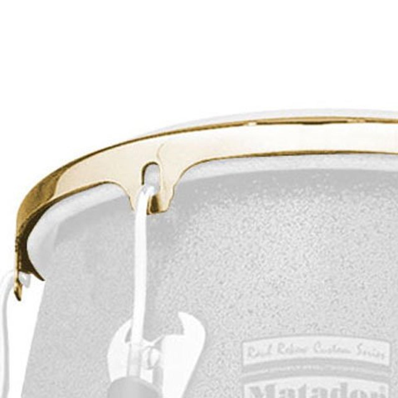 Drum Workshop 12 Tumba Rim Gold Tone