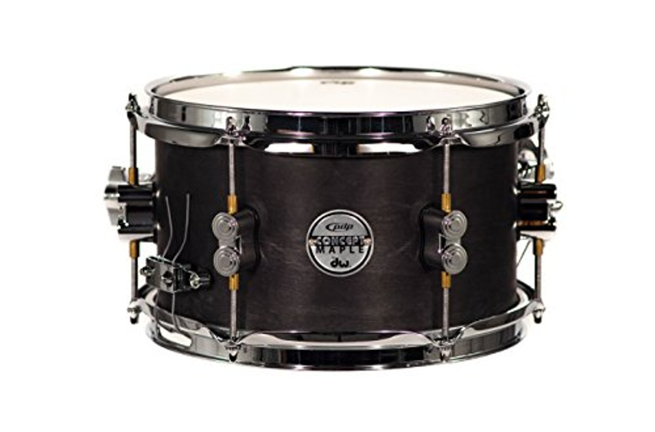 Drum Workshop Concept Snare 6x10, Black Wax, Cr Hw