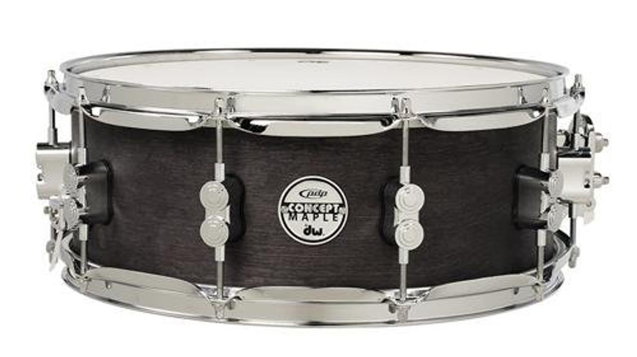 Drum Workshop Concept Snare 5.5x14, Black Wax, Cr Hw