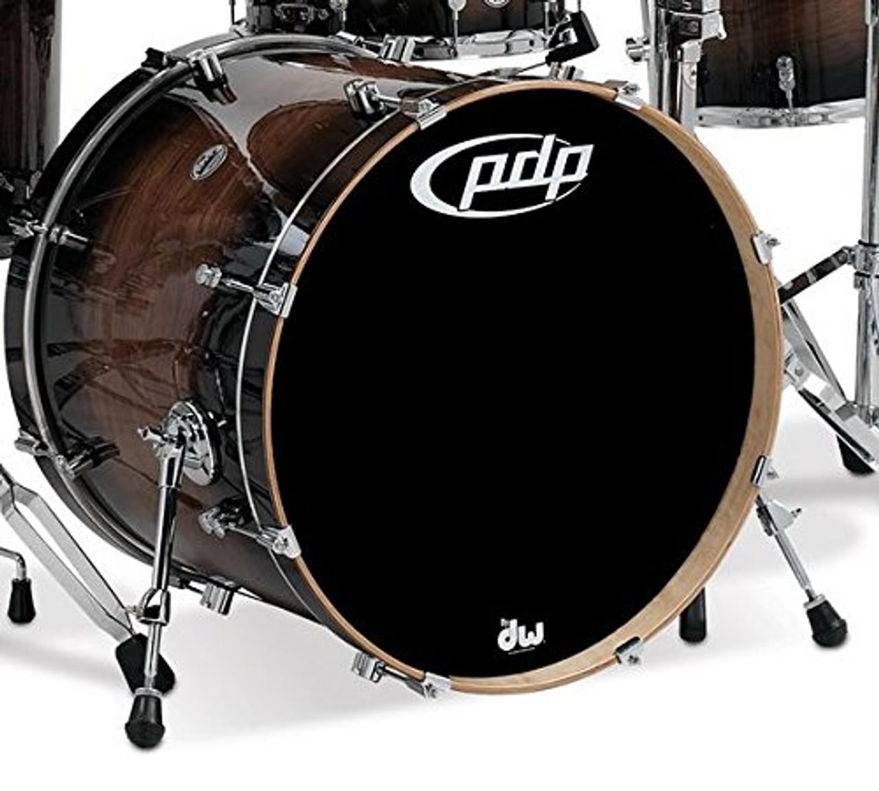 Drum Workshop Concept Exotic, Wal-Char Bu, Cr Hw 18x22