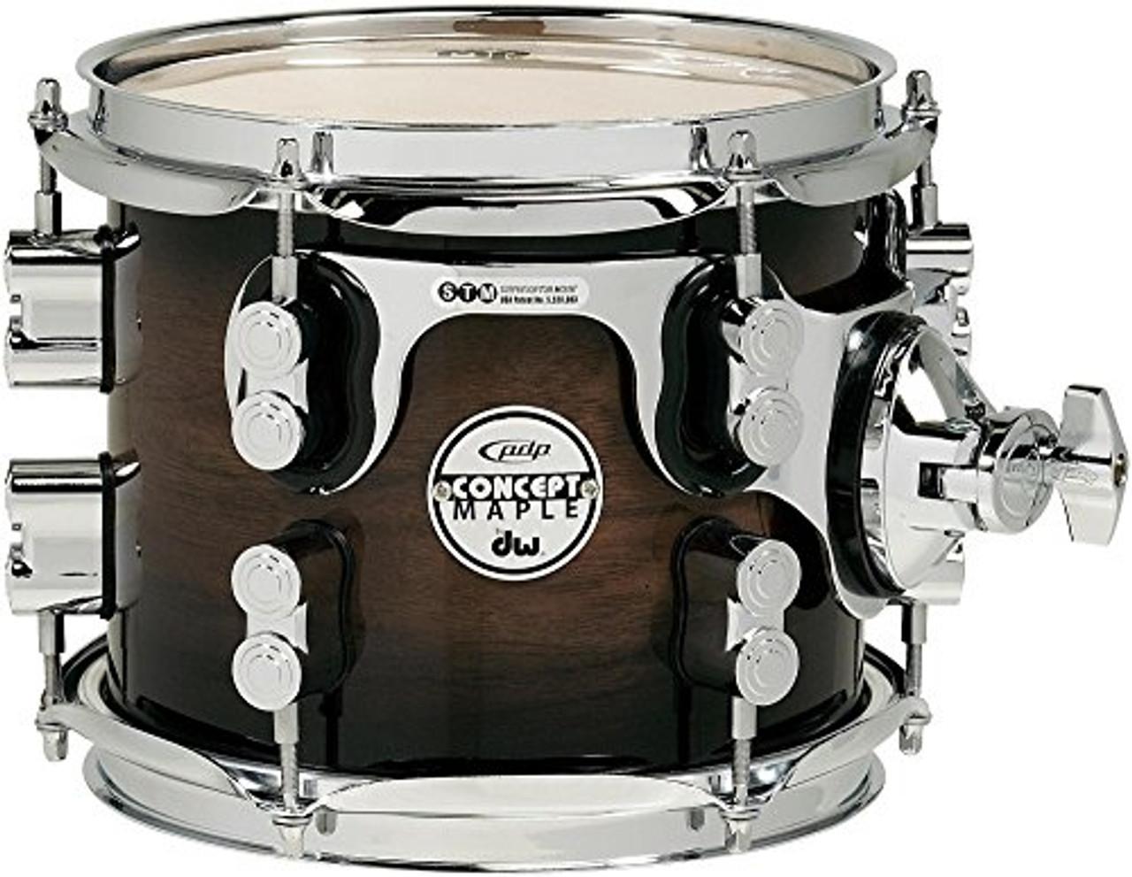 Drum Workshop Concept Exotic, Wal-Char Brst, Cr Hw 7x8