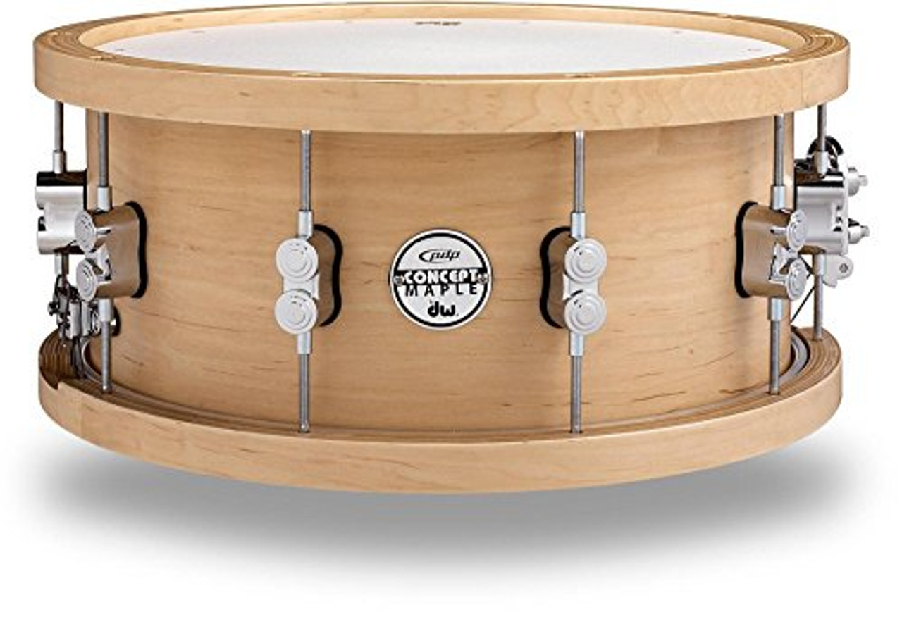Drum Workshop Pdp Thick Wd Hp Maple Snr, 5.5x14, Cr Hw