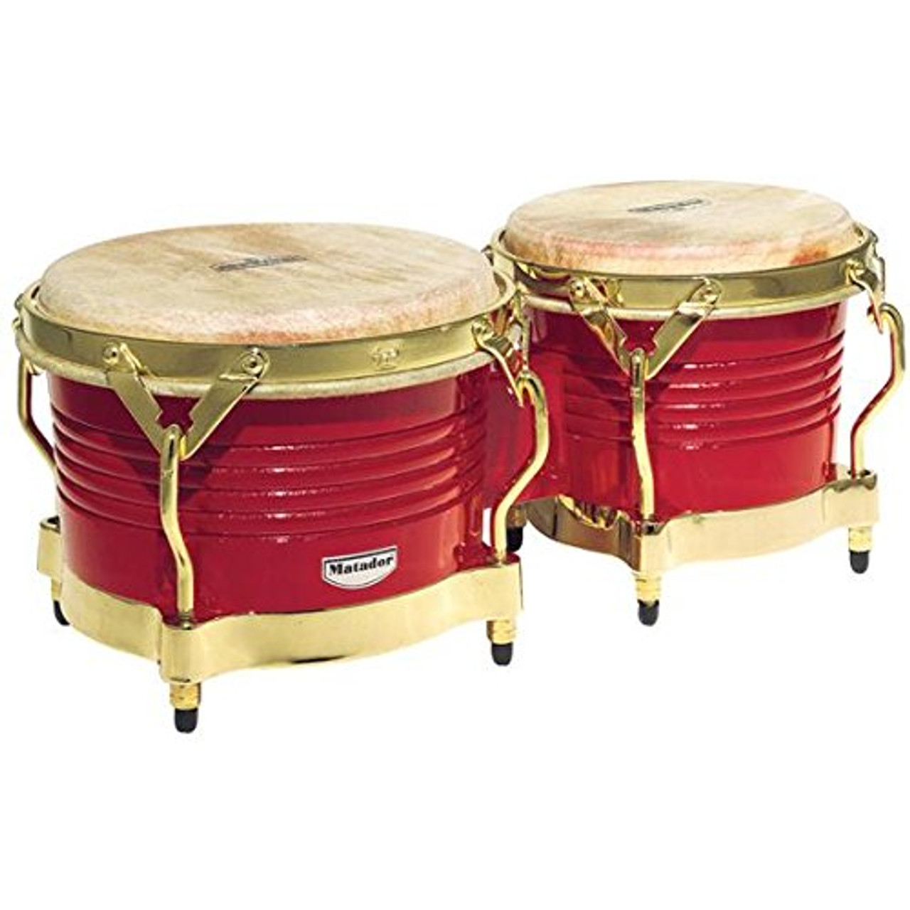 Drum Workshop Mat Trad 7 1/4-8 5/8 Bongo Oak Red Cr