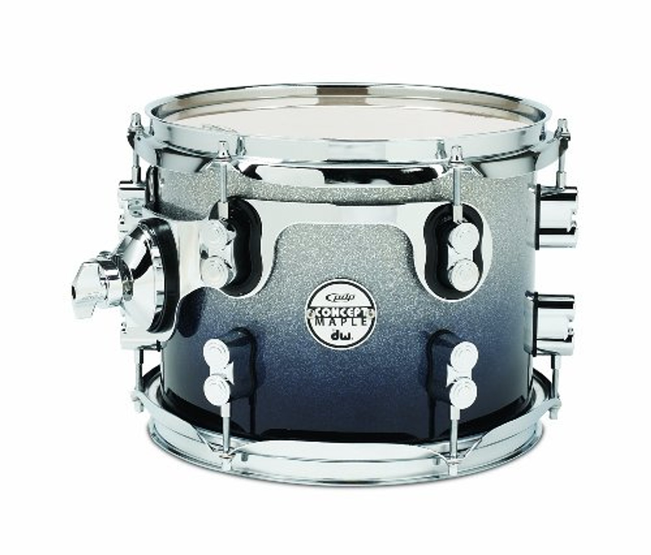 Drum Workshop Silver to Blk Fade - Chrm Hw 8x10