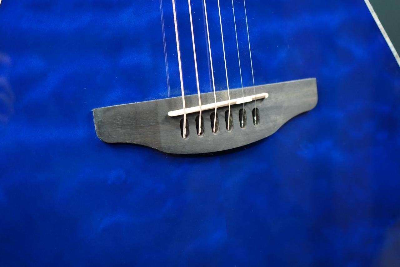 Ovation CE44P-8TQ Acoustic-Electric Guitar Caribbean Blue