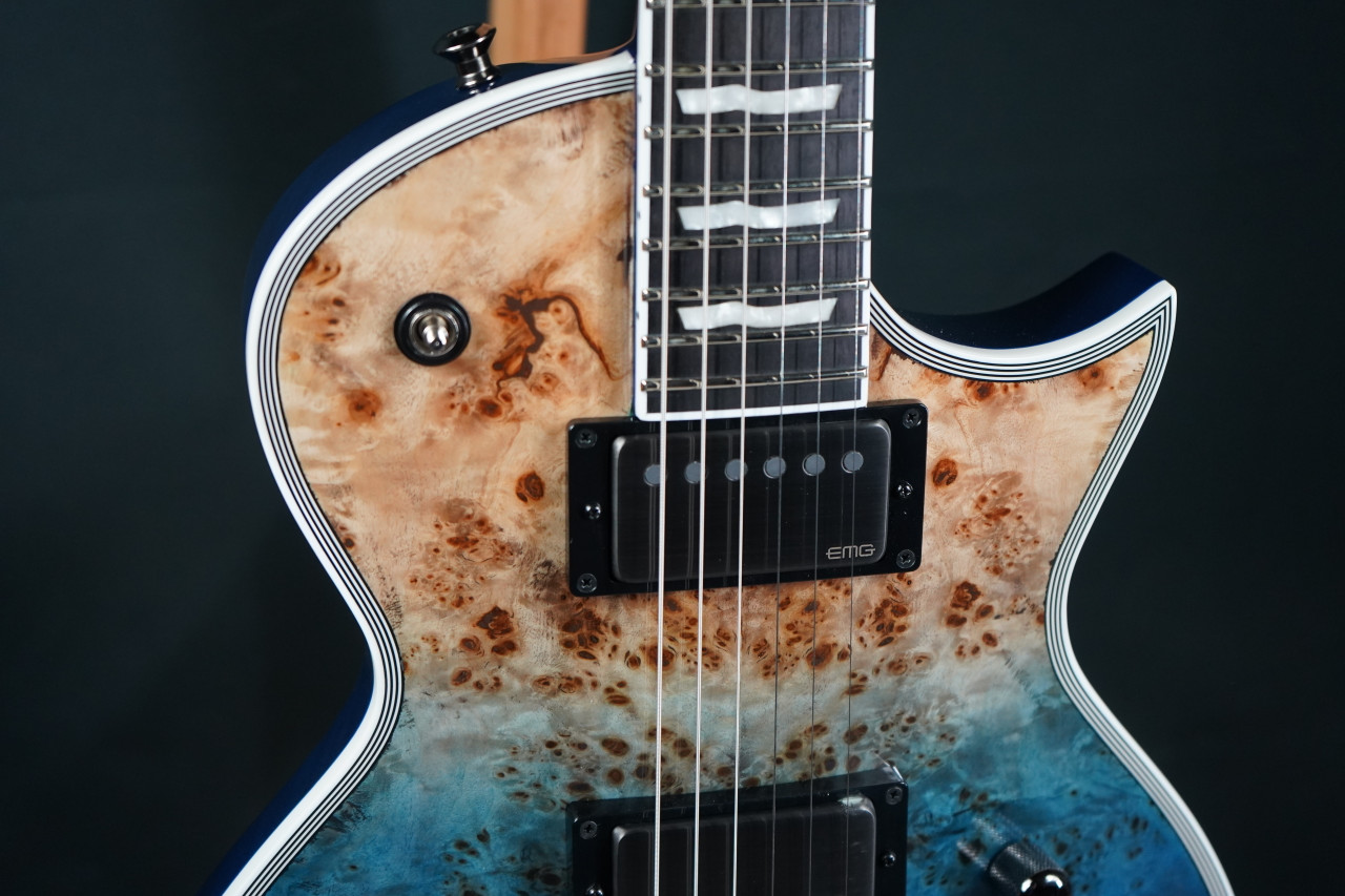 ESP E-II Eclipse Blue Natural Fade