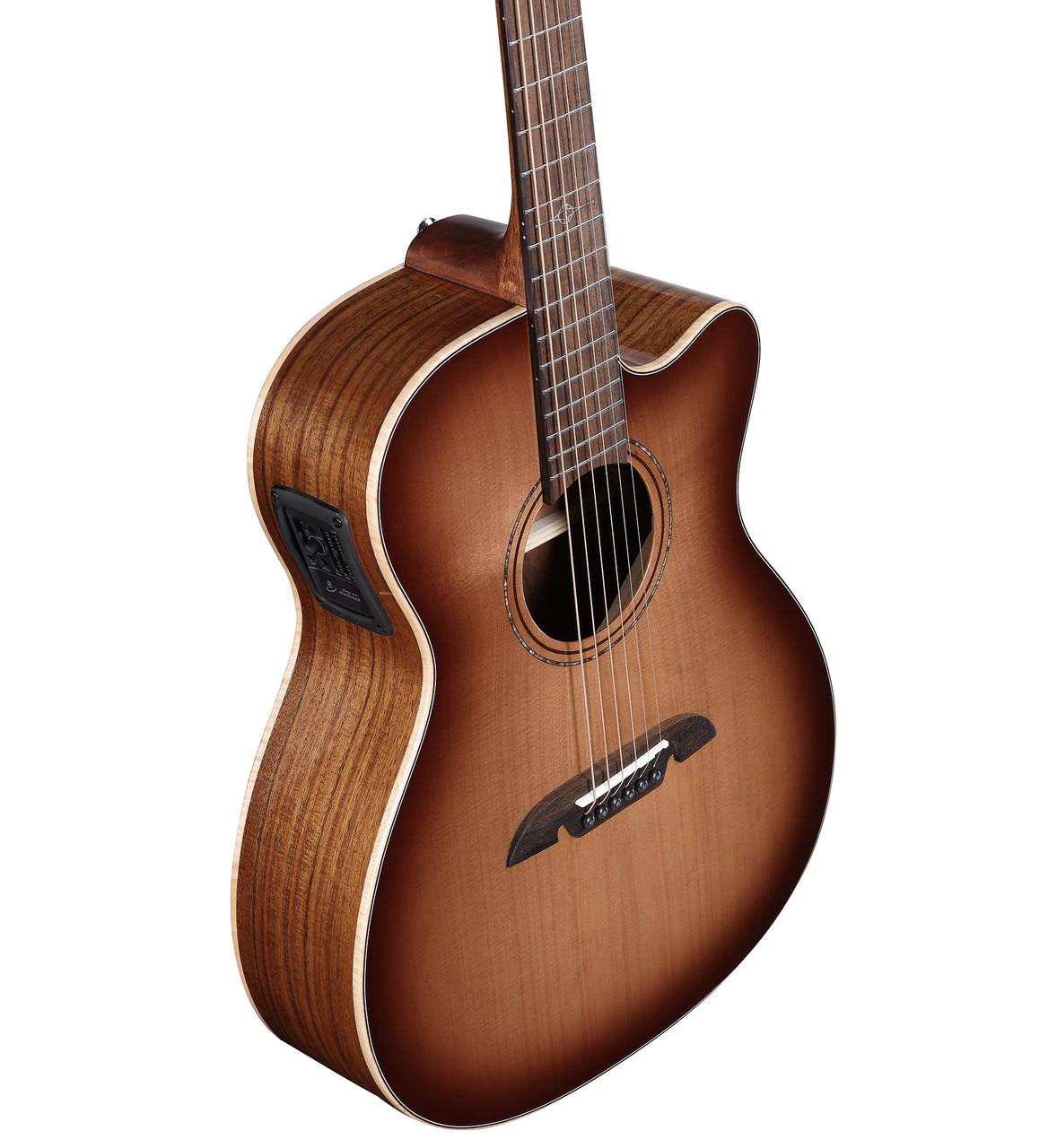 Artist Elite AFA95CESHB Folk/OM Acoustic Electric