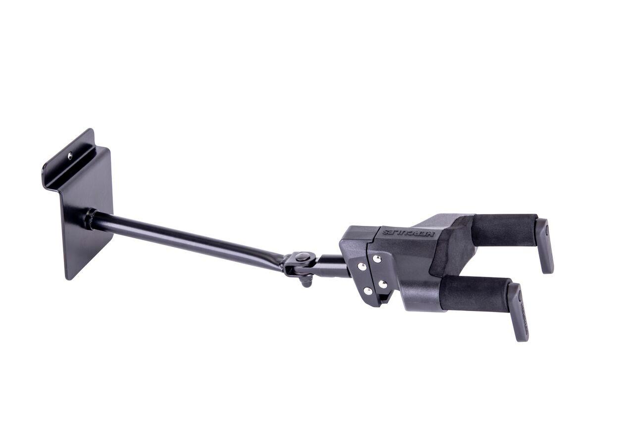 Hercules PLUS Series Universal AutoGrip Slat Wall Guitar Hanger