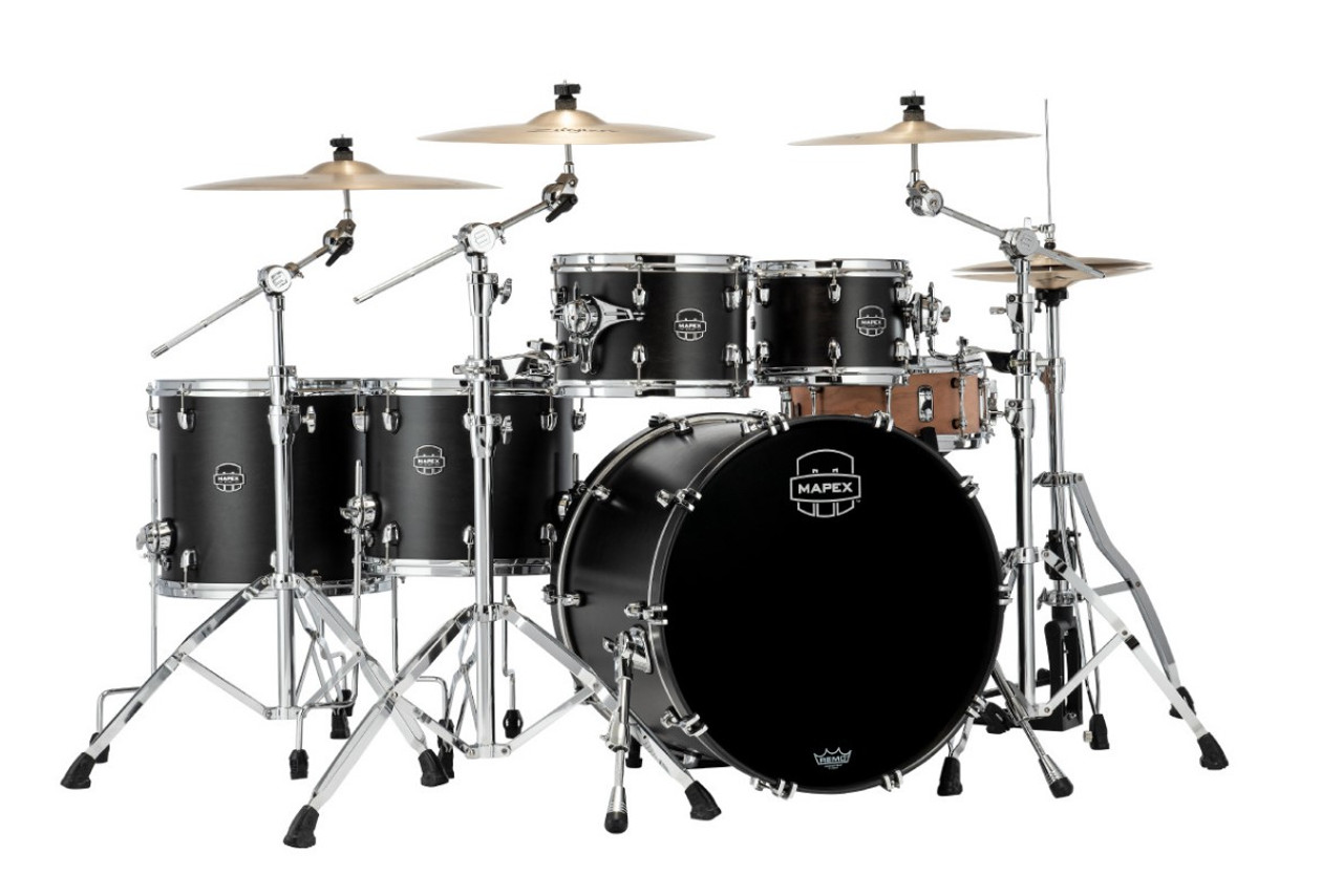 Mapex Saturn Studioease 5 Piece Shell Pack Without Snare (SR628XUFB_MA)