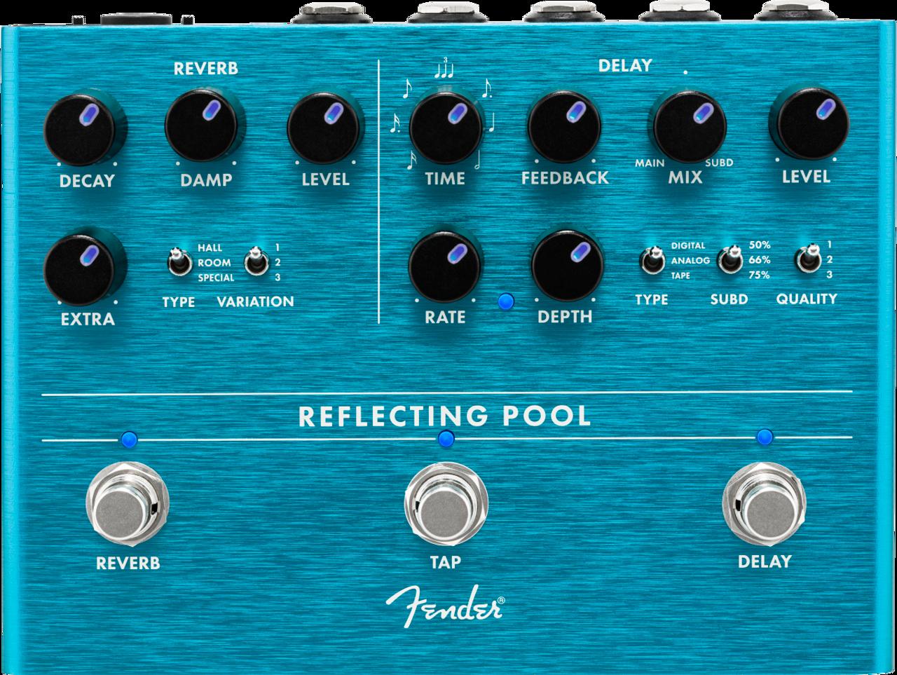 Fender Reflecting Pool Delay & Reverb (Open Box Warehouse)