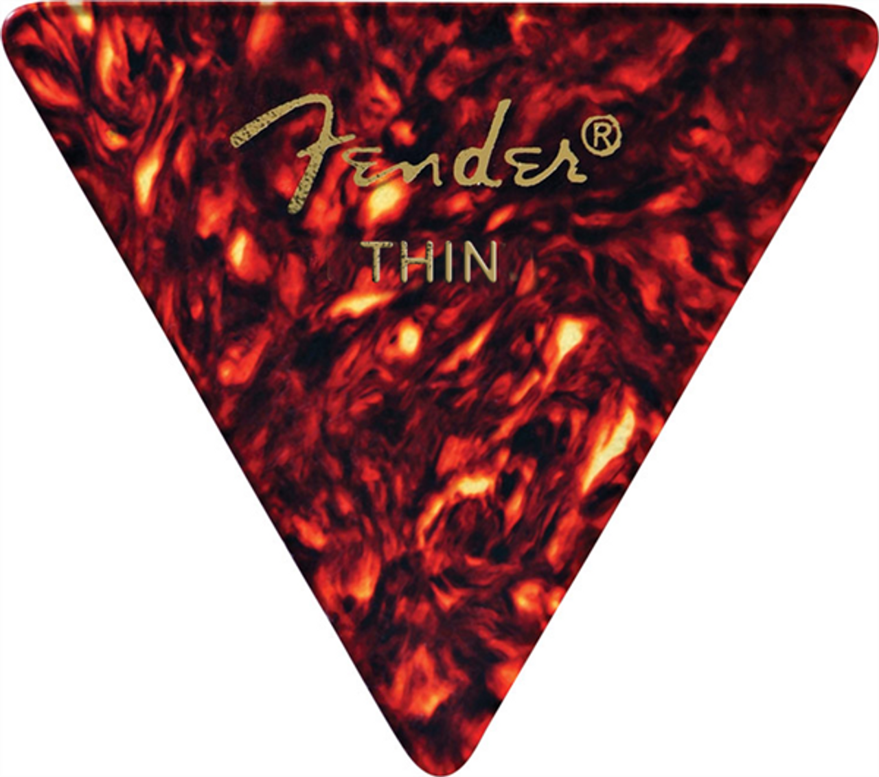 Fender 355 Shape Classic Celluloid Picks Thin - 1/2 GROSS (72 COUNT)