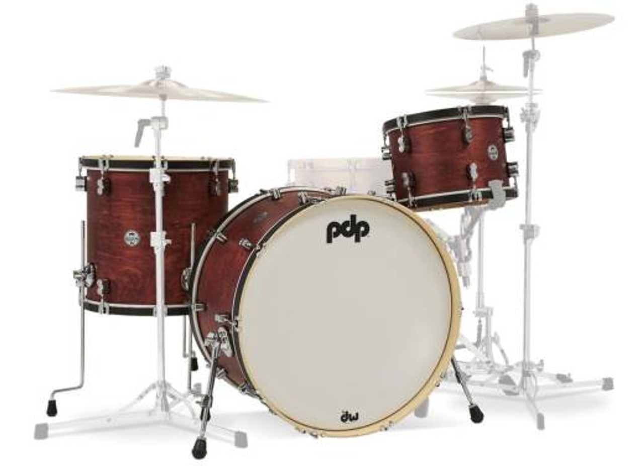 Classic Kit 24 Kick Ox Blood/Ebony Hoop